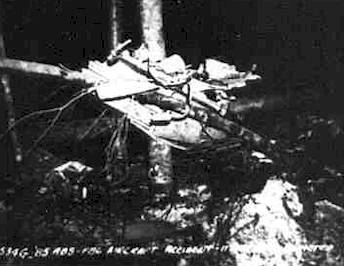 North American F-86A Sabre Crash Site